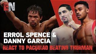 THROW BACK VIDEO! Errol Spence & Danny Garcia React To Pacquiao Beating Thurman | EsNews Boxing
