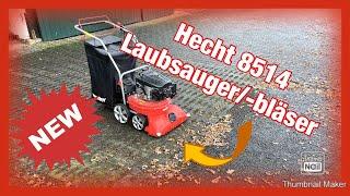 Hecht 8514 Laubsauger Laubbläser fahrbar Saugschlauch Turbobürste Laubsammler
