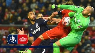 Download Video Best Goalkeeper Saves - 4th Round Emirates FA Cup 2015/16 | Top Five MP3 3GP MP4