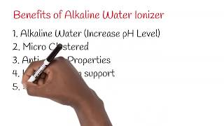 Water Ionizer Animation Video | Increase of pH Level | Anti ageing Property | Weight Loss