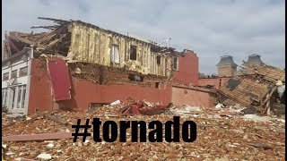 """Tornadic Storm rips through OLD Iowa town - """"Standing when Abraham Lincoln was President"""""""