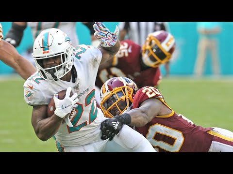 "Dolphins RB Walton starts against the Redskins and gives ""God"" credit"