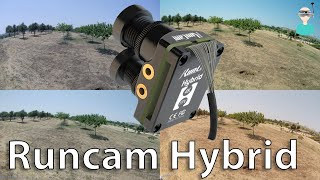 Runcam Hybrid Full Sized Flight Footage (Watch In 4k)