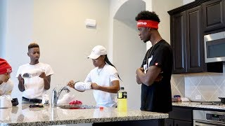 i used your toothbrush to clean my shoes prank on funnymike!!