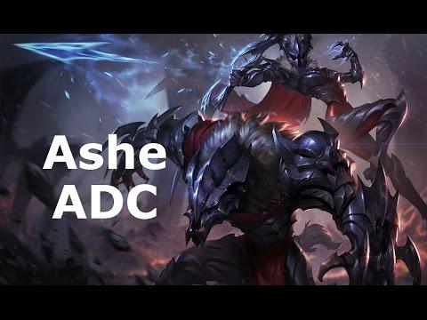 [S5/D1] Marauder Ashe ADC, Full Game Commentary!