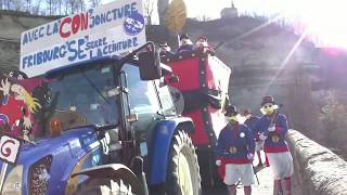 preview picture of video 'Fribourg. Carnaval des Bolzes 2014 Complet'