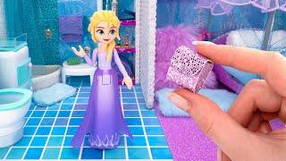 Building a Magical Mini Apartment For Disney Queen Elsa ❄️