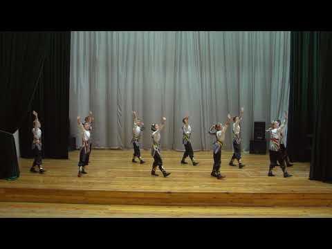 Ученический танцевальный ансамбль ДШМИ №15 Чиланзарского района города Ташкента Республики Узбекистан