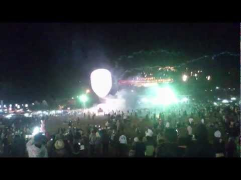 Why Launching Fireworks From A Hot-Air Balloon Isn't The Best Idea