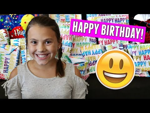GRACELYNN'S 10th BIRTHDAY SPECIAL! BIRTHDAY PRESENT OPENING AND PARTY! Mp3