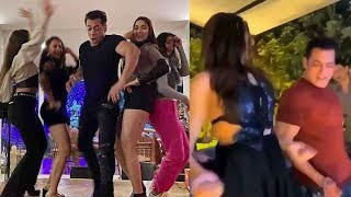 Salman Khan NEW YEAR PARTY 2020 With Friends At Panvel Farm House