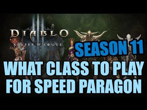 Diablo 3 Season 11 - What Class to Play for Paragon Farming?