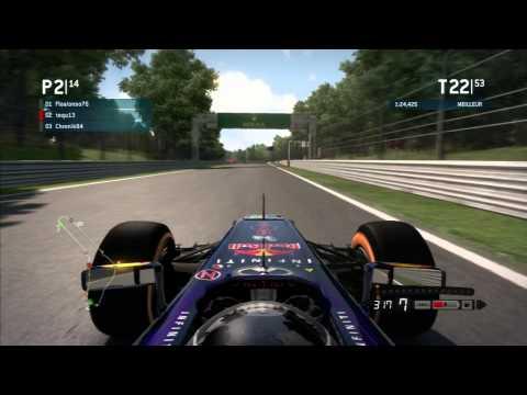 F1 2013 - F1 Team PS3 - Monza 100% - No Assists
