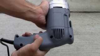 Electric Head Metal Cutting Shear 18 14 Gauge Steel Cutter Snip/ DEMO TEST