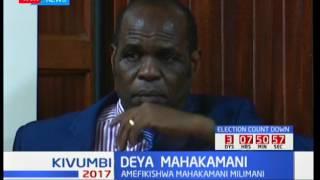 Mhubiri Gilbert Deya afikishwa mahakamani