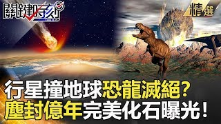 【關鍵時刻精選】行星撞地球造成恐龍滅絕?塵封億年完美化石曝光!