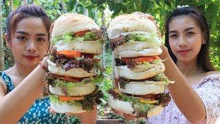 Yummy cooking hamburger recipe - Cooking skill