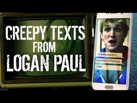 Creepy Texts from Logan Paul to Jake Paul at Vidcon