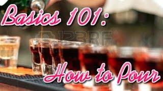 Rockstar BarGirl: Basics 101 How to Pour
