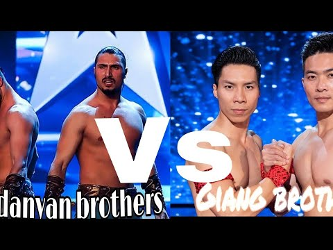 The most dangerous act vardanyan Brothers vs Giang brothers on Britain got talent (видео)