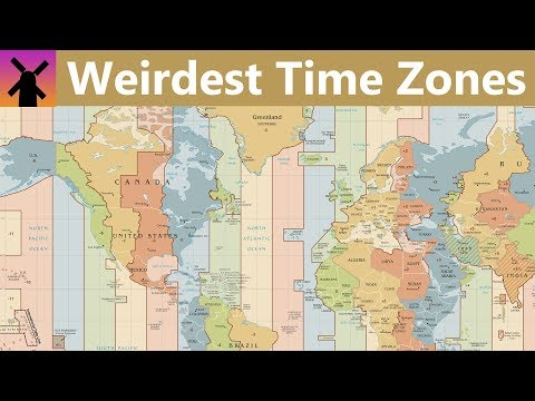The World's Strangest Time Zones - Neatorama on