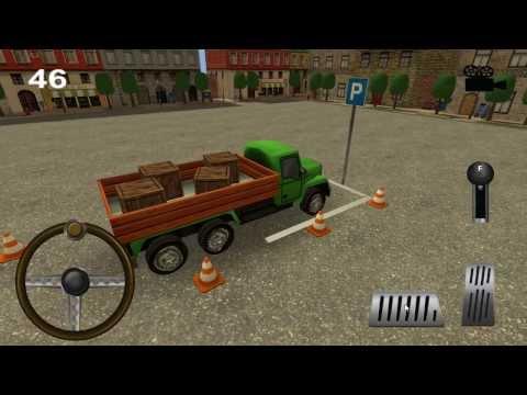 Video of Little Truck Parking 3D