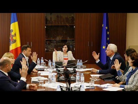 Μολδαβία: «Στο κόκκινο» το πολιτικό θερμόμετρο