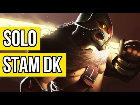 Solo PVE Stamina Dragonknight Build - MAULER - The Best ONE BAR Stam DK Build? 💪 MAJOR DAMAGE