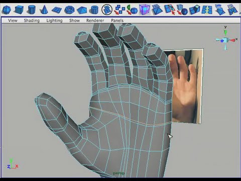 Modelling the hands - how?? — polycount