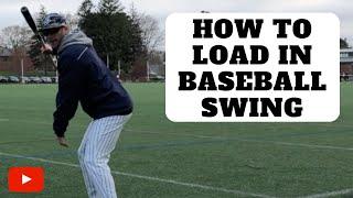 How To LOAD In Baseball Swing | Baseball Hitting Tips