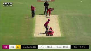 Ellyse Perry Sydney Sixers  innings v Renegades