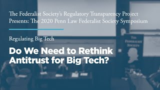 Click to play: Do We Need to Rethink Antitrust for Big Tech?