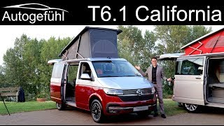 VW Multivan T6.1 California REVIEW Beach vs Coast vs Ocean comparison - Autogefühl