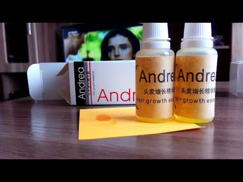 Вся правда об средстве от выпадения волос Andrea  . Распаковка посылки из Китая.