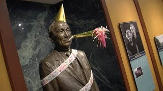 Thumbnail of Vision and Spirit Award Presented at Arnold Beckman 117th Birthday Celebration video