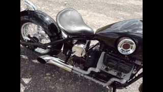 мотоцикл с мотором от заз !