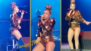 "Keyshia Cole Sings ""Heaven Sent"" Live At The Mississippi Coliseum"