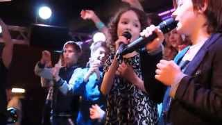 Cиреневая Kids-Party | Арина и Марк-Нарисовать мечту