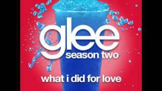 Glee - What I Did For Love [LYRICS] - YouTube