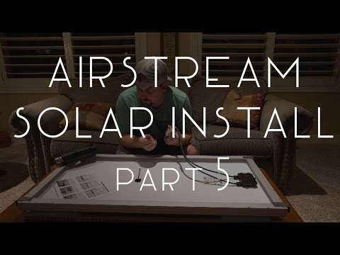 Download Airstream Solar Install Part 5: Wiring the Panels - TMWE S02 E106 HD Mp4 3GP Video and MP3