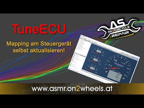 KTM SMC 690 R Mapping TuneECU Tutorial [Flashing ECU] - смотреть