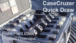 CaseCruzer Universal 5 Pack Quick Draw Handgun Case Product Overview