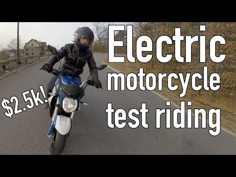 CitySlicker electric motorcycle: First Ride First Thoughts