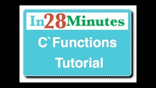 C Functions Tutorial : with Example Programs