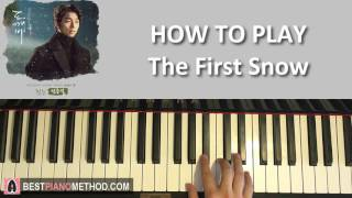 HOW TO PLAY - [Goblin 도깨비 OST Part 8] 첫 눈 (The First Snow) -  By 정준일 (Jung Joonil) (Piano Tutorial)