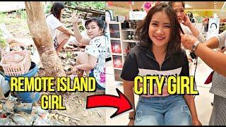 Island Girl from MINDANAO to Manila Girl! Giving Her Permanent JOB 🇵🇭 (Make Over)