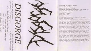 Disgorge - Demo 1995