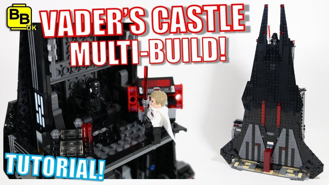 LEGO STAR WARS VADER'S CASTLE 75156 & 75183 MULTI-BUILD!