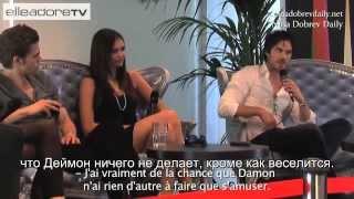 Иэн Сомерхолдер, Interview @ Festival TV Monte Carlo 2010 (rus sub)
