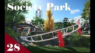 Planet Coaster | Society Park Part 28 | Junior Coaster The Nurse